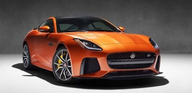 ����� Jaguar F-TYPE SVR ��������� �� ���������� � ������