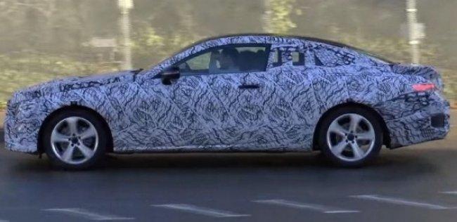 Новое купе Mercedes E-Class впервые показали на видео