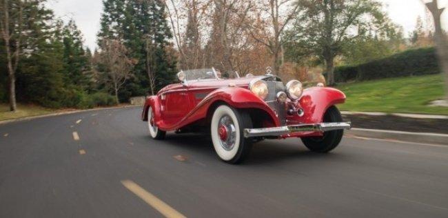 Родстер Mercedes-Benz 1937 года продан за 9,6 млн долларов