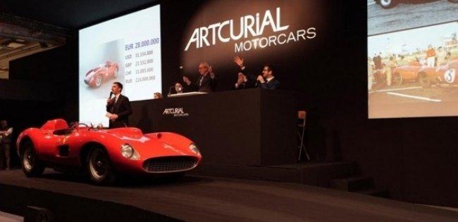Ferrari 335 S Scaglietti продали за 32 млн евро