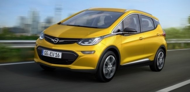 Opel ���������� ����� ���������� Ampera-e � 2017 ����