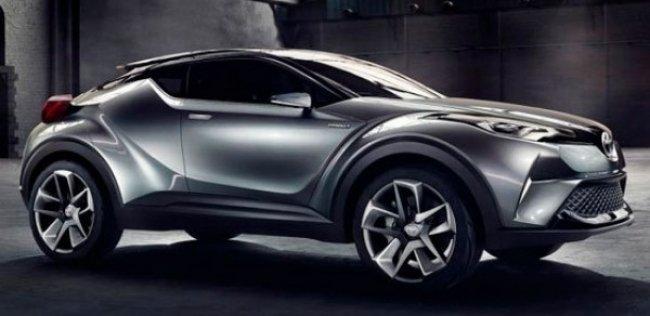 Toyota ������� �������� ������������ ���������� C-HR � ������