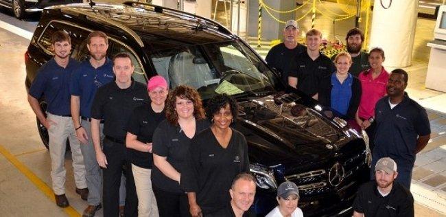 Mercedes-Benz начал выпуск внедорожников GLS