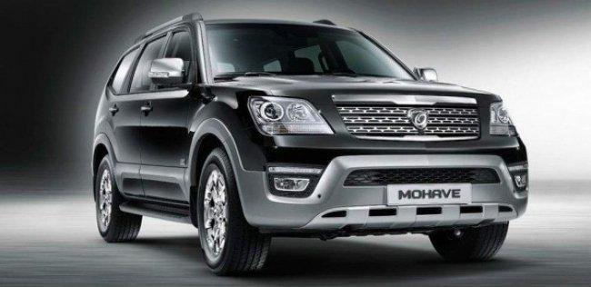 Kia начинает продажи обновленного внедорожника Mohave