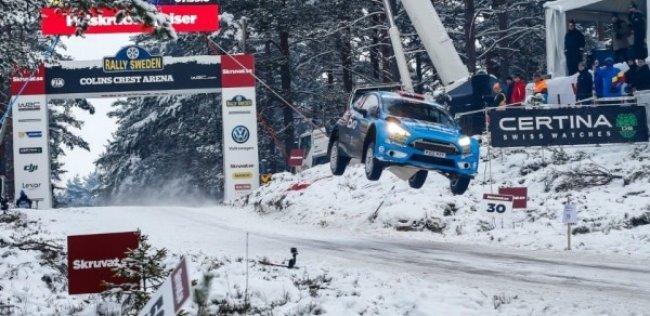 Норвежец получил «Приз Колина Макрея» за прыжок на Ралли Швеции