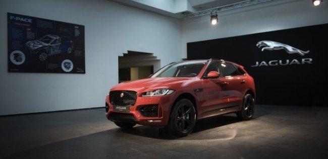 � ����� ��������� ������������ ����� ���������� Jaguar F-Pace