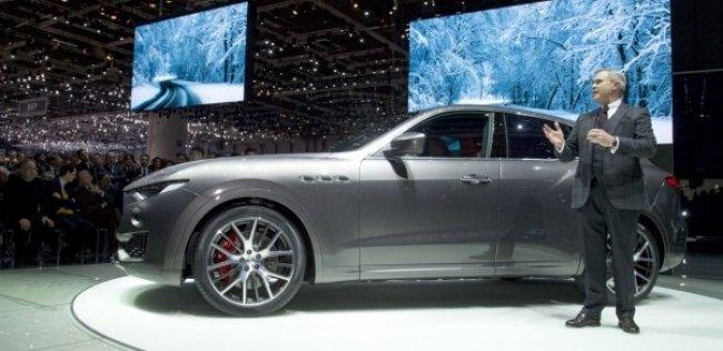 Первый кроссовер Maserati наконец-то появился на публике
