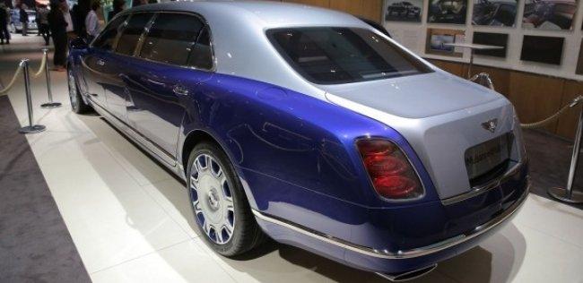 Bentley представила Mulsanne Grand Limousine