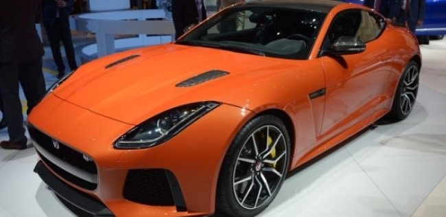 Jaguar ������������ ����� �������� F-TYPE SVR