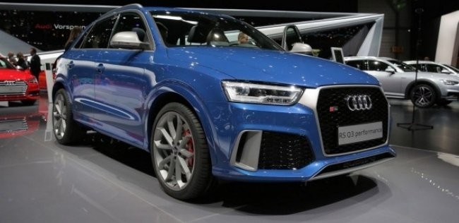 Audi RS Q3 performance �������� � ������� �� ������ ��������