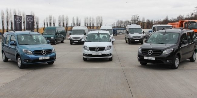 В Украине презентован Mercedes-Benz Citan