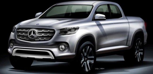 Новый пикап Mercedes-Benz могут представить осенью