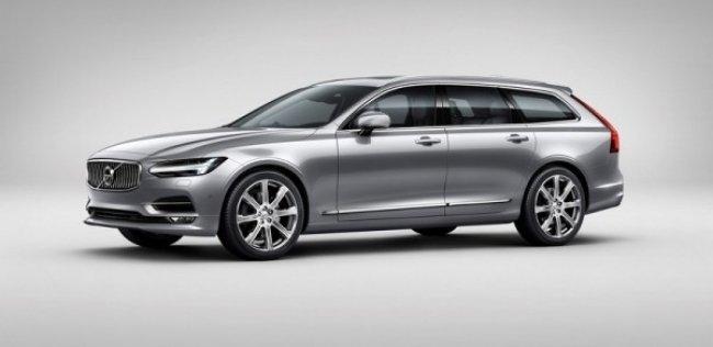 Volvo назвал цены на новые S90 и V90