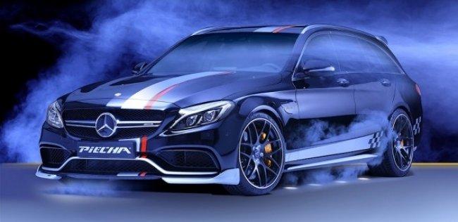 Немцы сделали из AMG-универсала Mercedes-Benz C-Class «ротвейлера»