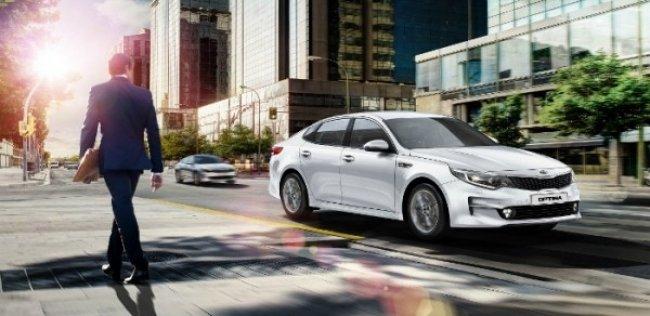Бизнес-седан Kia Optima нового поколения дебютирует в Украине в конце марта