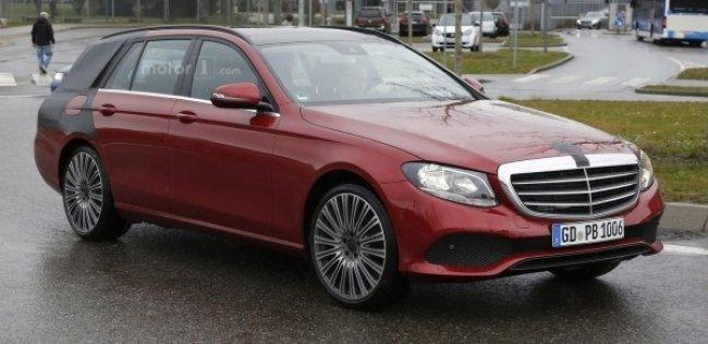 Mercedes-Benz вывел на финальные тесты новый универсал E-Class