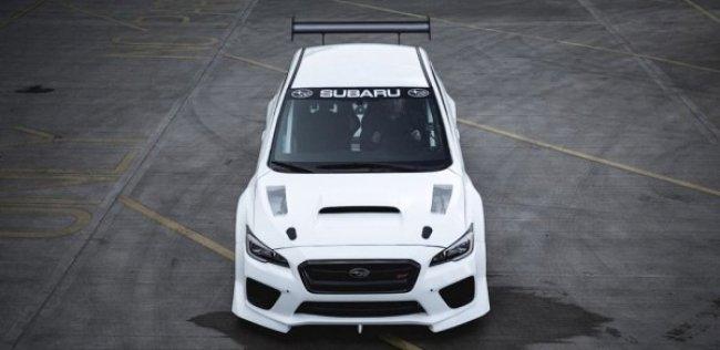 Subaru WRX STI установит новый рекорд гонок на острове Мэн