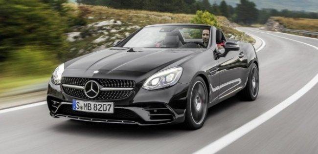 Родстер Mercedes-Benz SLC отмечает 20-летие