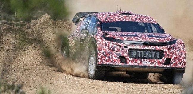 Citroen сделал ралли-кар из еще не представленной модели