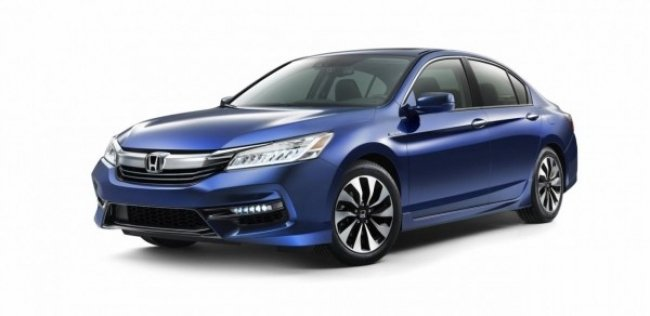 Honda обновила гибридный Accord