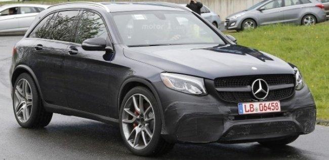 Mercedes AMG GLC 63 поступит в продажу в 2017 году