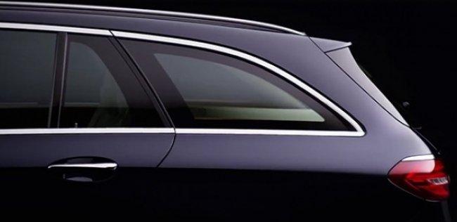 Новый универсал Mercedes-Benz E-Class впервые показали на видео