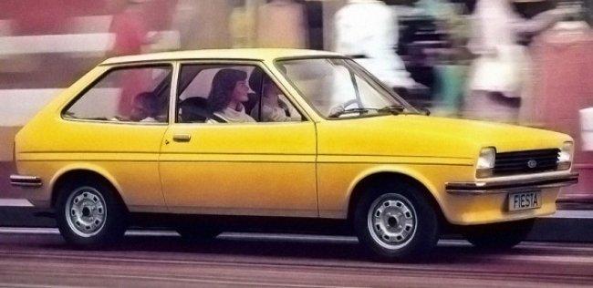 Ford Fiesta исполнилось 40 лет