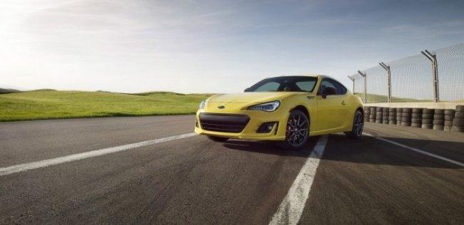Subaru выпустила «желтую» спецверсию купе BRZ