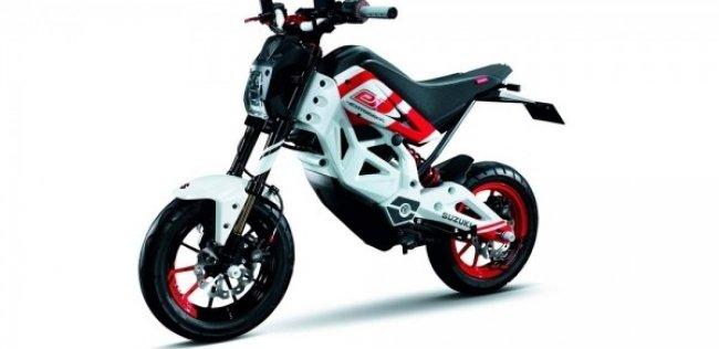 Компания Suzuki патентует электрический минибайк