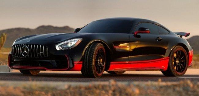 Трековый «Мерседес» AMG GT станет героем пятых «Трансформеров»