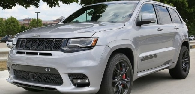 Внешность Jeep Grand Cherokee SRT рассекретили до премьеры