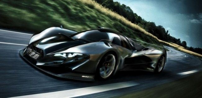 Mercedes-Benz разработает 1300-сильный гиперкар
