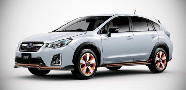 Subaru показала первый STI-гибрид