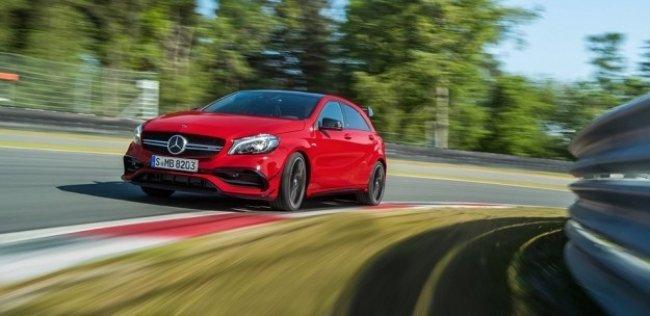 «Заряженный» Mercedes-Benz A-класса получит девятиступенчатую коробку