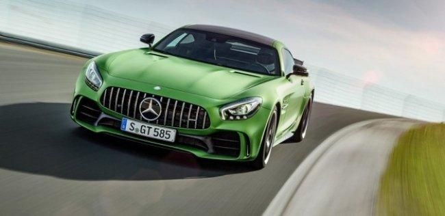 Mercedes-AMG GT получит «промежуточную» версию