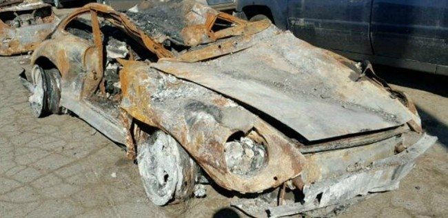 Сгоревший Porsche 1996 года за 95 тысяч долларов