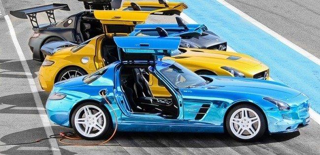 Mercedes-Benz планирует создать собственную линейку электрокаров для конкуренции с Tesla и BMW