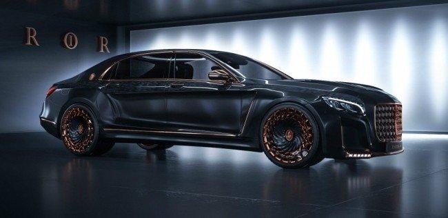 Канадцы превратили Mercedes-Maybach в «золотого Императора»