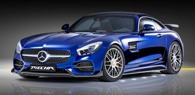 Тюнеры сделали суперкар Mercedes-AMG GT S мощнее и быстрее