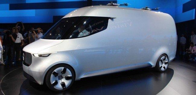 «Мерседес» разработал коммерческий фургон будущего