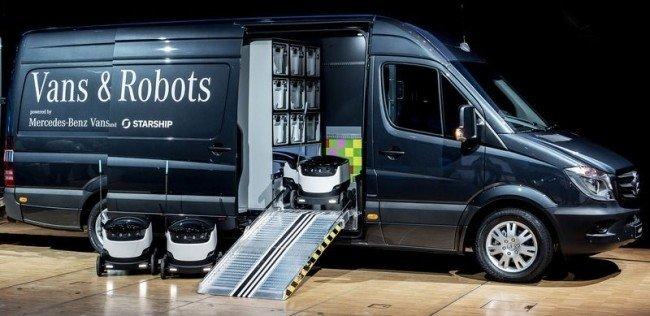 Mercedes-Benz показал ещё один концептуальный «фургон будущего»