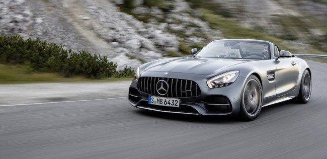 Mercedes-Benz представил родстер AMG GT