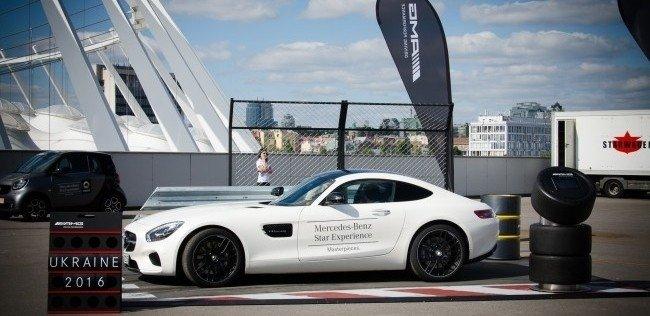 В Киеве состоялось роад-шоу Mercedes-Benz Star Experience