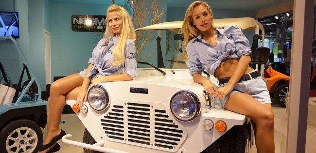 Девушки Парижского автошоу 2016
