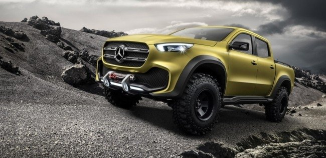Первый пикап Mercedes-Benz назвали X-Class