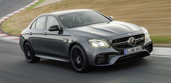 Mercedes представил новый E 63 AMG