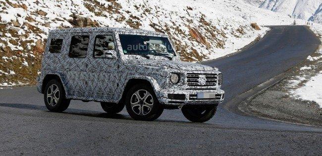 Mercedes-Benz представит новый Gelandewagen в конце 2017 года