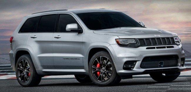 Jeep будет продавать две «заряженные» версии Grand Cherokee