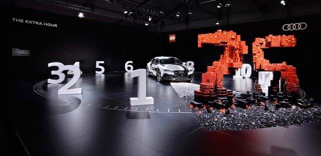 Audi и Lego придумали совместный арт-объект