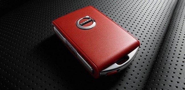 Красный ключ от Volvo для молодых водителей